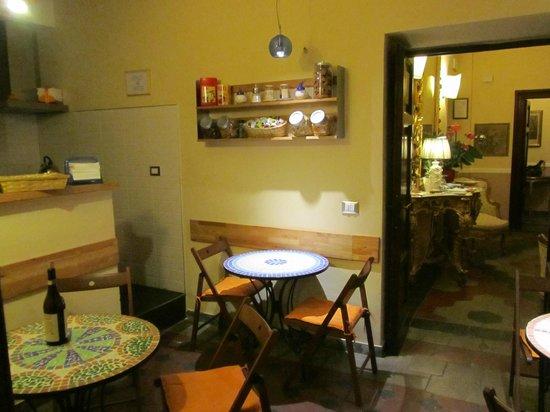 Residenza Maritti: Breakfast area