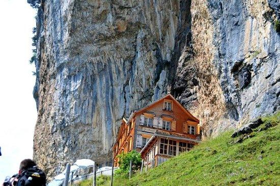 Weissbad, Suíça: Risalita al Rifugio