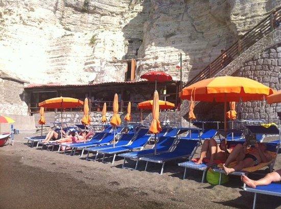 Cava Grado Beach : Lido Bar da Marie