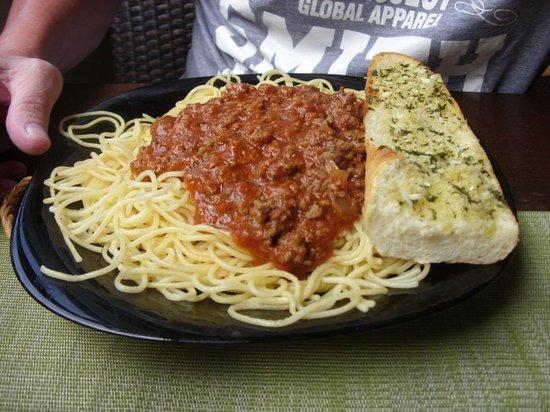 Smithy's Restaurant : spaghetti