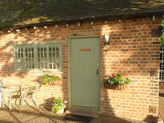 Dorney Self Catering Apartments : Door to Gardener's Bothy