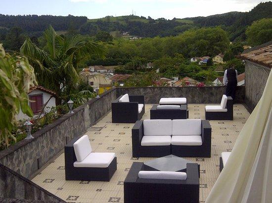 Residencial Vista do Vale: vue sur Furnas et pat du belle terrase