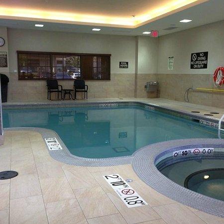 Homewood Suites by Hilton Toronto Vaughan : Pool area