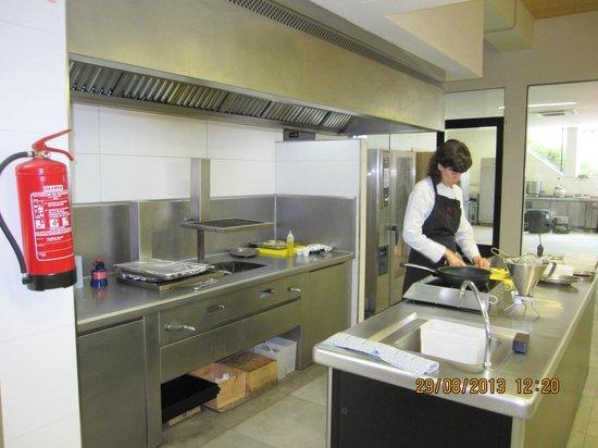 Azurmendi: The kitchen