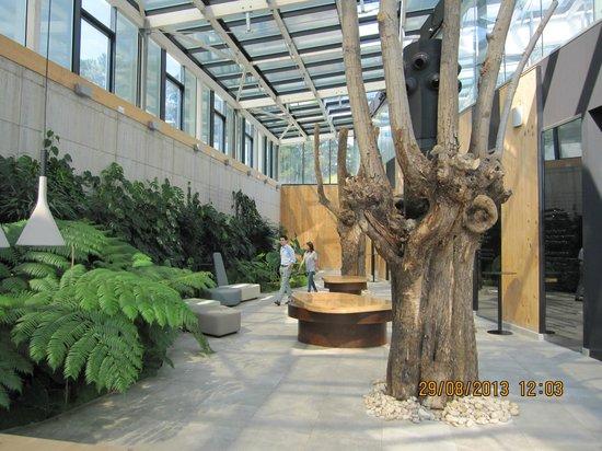 Azurmendi: The Atrium