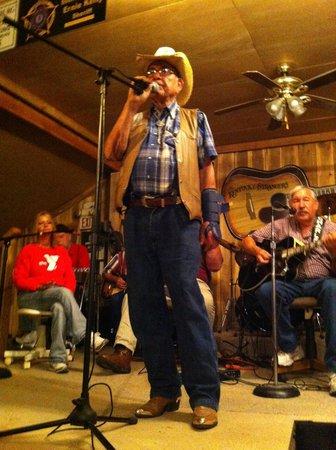 Burgin, KY: Tommy singing