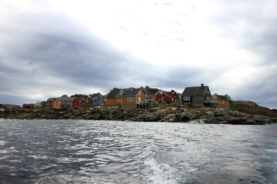 Old Cemetery : 'village view' from the fishing boat back to airport - 082213