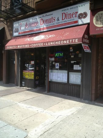 Photo of Cafe 7th Ave Donuts Luncheonette at 324 7th Ave, Brooklyn, NY 11215, United States
