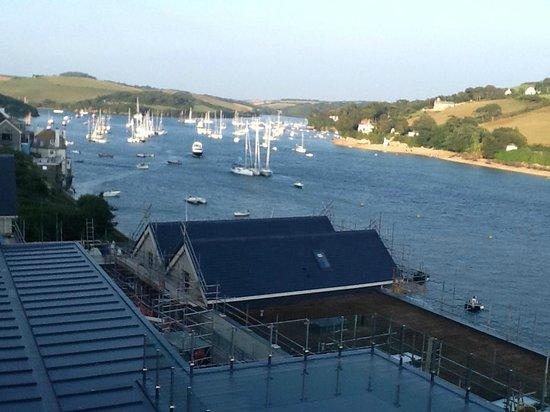 Salcombe Harbour Hotel & Spa: Balcony View