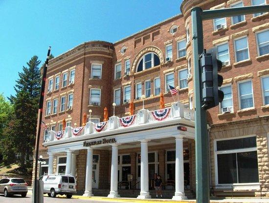 franklin hotel picture of historic old town deadwood. Black Bedroom Furniture Sets. Home Design Ideas