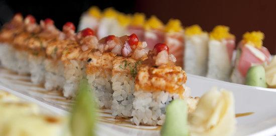 Blue Ginger Sushi & Lounge: signature rolls