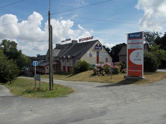 Kyriad Saint Malo Ouest - Dinard : Esterno hotel
