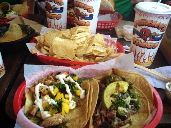 Photo of Mexican Restaurant Torchy's Tacos at 2801 Guadalupe St, Austin, TX 78705, United States