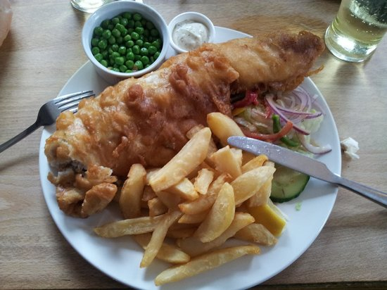 Maidenhead, UK : Windsor Whale and Chips!
