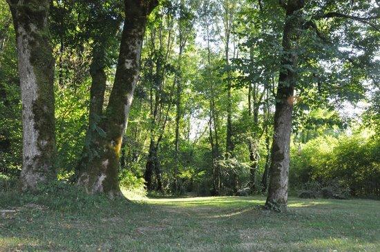 Feas, Francia: Le fond du parc, vers le sentier