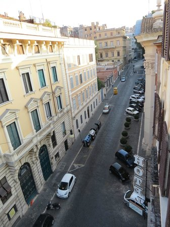 Raffaello Hotel : Street view