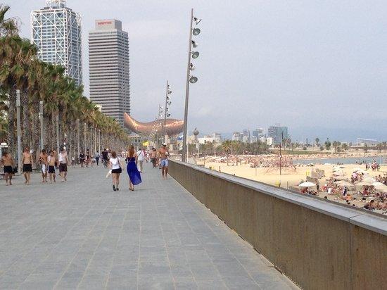 Hotel Banys Orientals: Barcelonetta Beach - 10 minutes away!