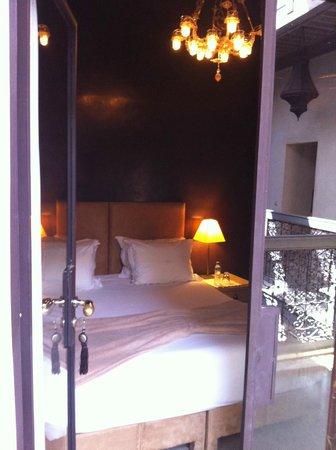 Riad Dar One: Bedroom
