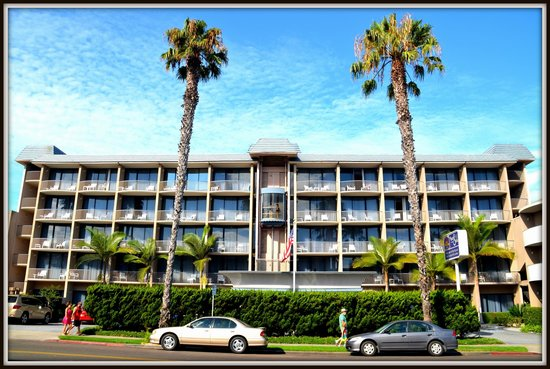 Inn by the Sea : The hotel from 7830 Fay Ave