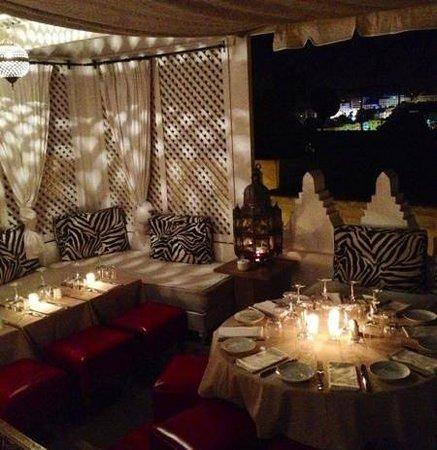 El Morocco Club: terrasse