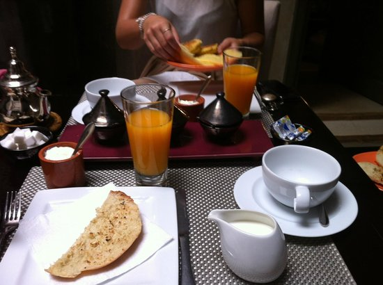Riad Dar One: Breakfast