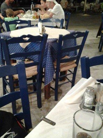 Sousana's: Le sedie