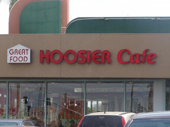 Hoosier Cafe: outside of restaurant