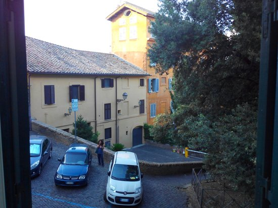 Hotel San Pancrazio: Vue de la chambre