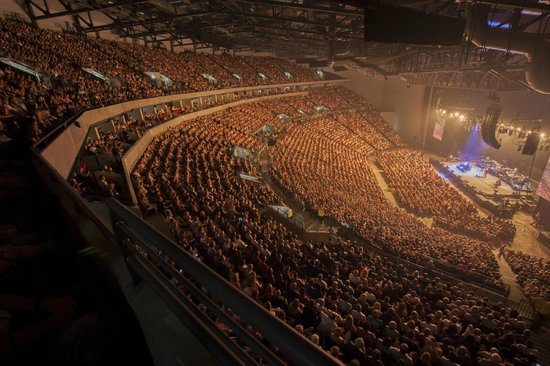 Wwe Live Picture Of First Direct Arena Leeds Tripadvisor