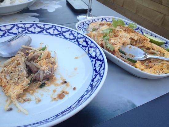 Mama Thai: je ne sais plus :) le dernier plat sur la page de gauche ! version boeuf