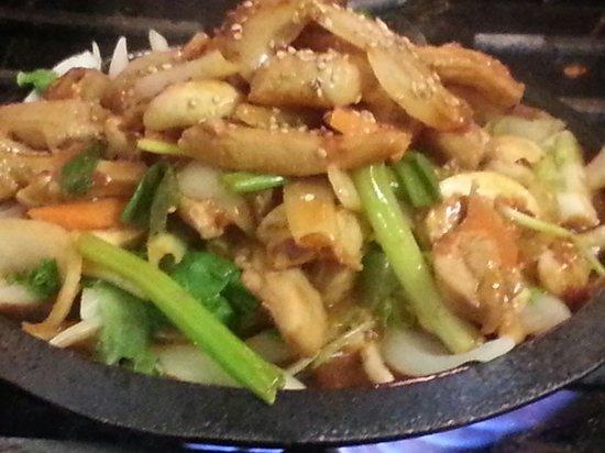 Jinju Korean Restaurant: Sizzling Chicken Bulgogi