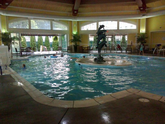 French Lick Springs Hotel: A gorgeous Pool Area (Might have been West Baden?)