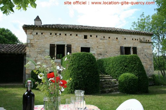 location gite quercy