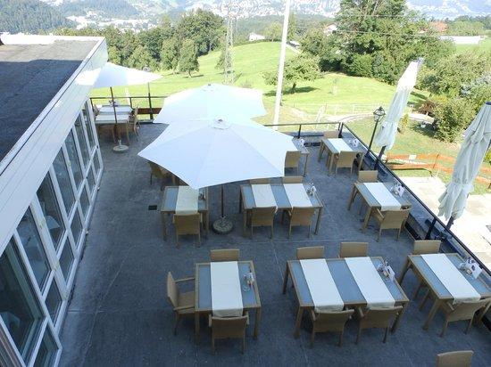 Hotel Sonnenberg: terrasse restaurant