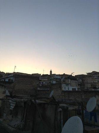 Dar Faracha Fès: uitzicht van op het dakterras
