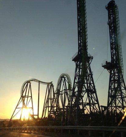 Silverwood Theme Park: Roller Coaster