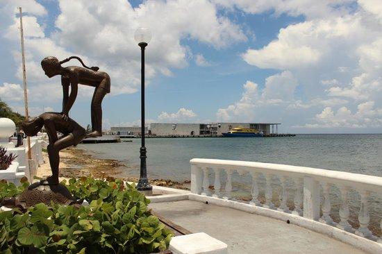 San Miguel : ferrys Pier