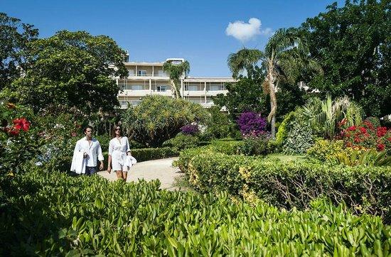 Mondello Palace Hotel : garden