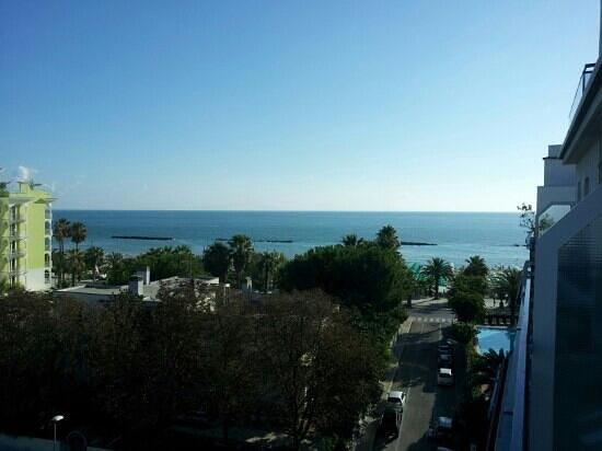 Hotel Bernard: panorama dalla camera 505