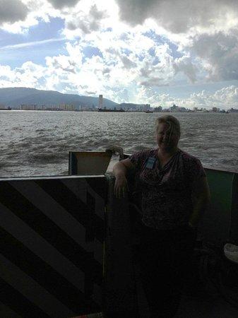 Penang Ferry Terminal: Penang Ferry 8/19/13