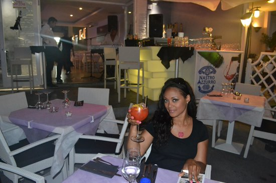 Hotel Villa Carolina : Cheers!!!