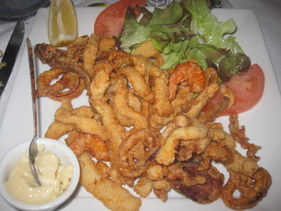 U MARINARU RESTAURANT : Excellent fritto misto - poissons frais