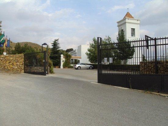 Hotel Villa de Laujar: ENTRADA  A LAS VILLAS DE LAUJAR DE ANDARAX