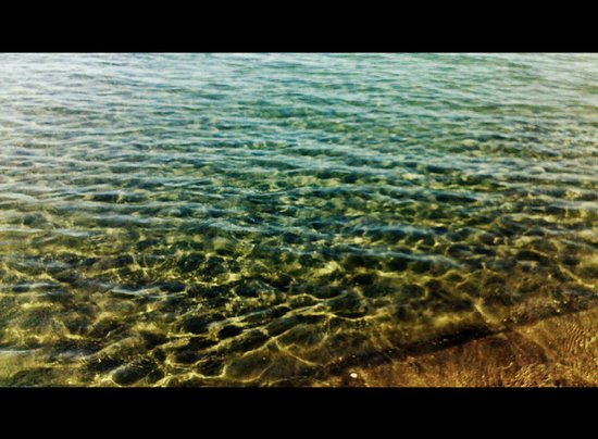 Governor's Beach Panayiotis : Clean waters