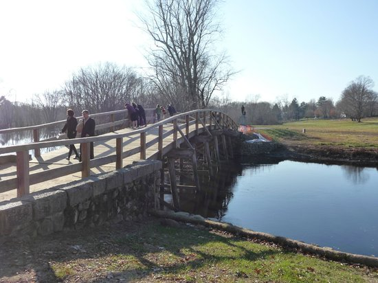 Minute Man National Historical Park: The North Bridge at Concord