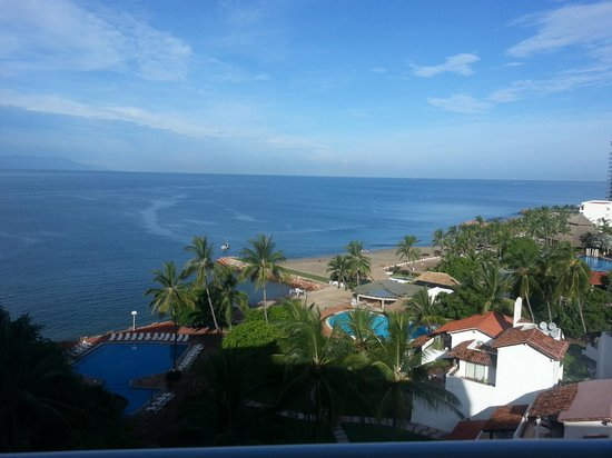 Mayan Palace Puerto Vallarta: Our view (7th floor)