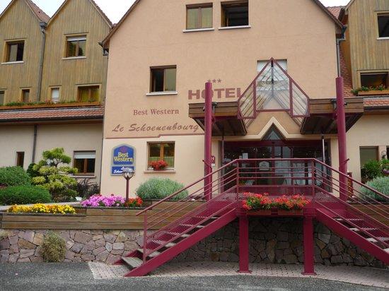 BEST WESTERN Hotel le Schoenenbourg : Very tidy hotel