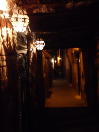 Riad Hiba: Entrance to the Riad