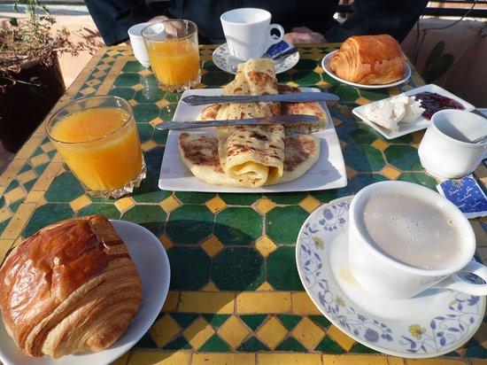 Riad Hiba: Breakfast