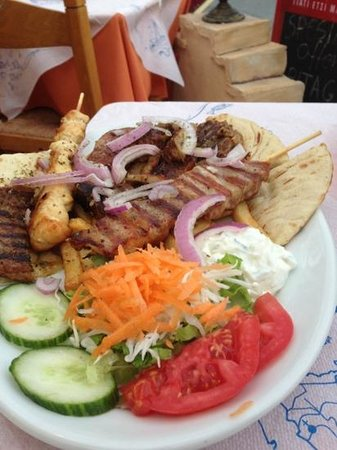 Aris Grill : The mixed grill (not for veggies!)